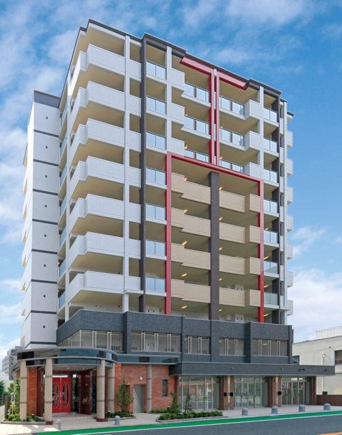 最新の設備でクオリティの高いマンションに(from第340号)