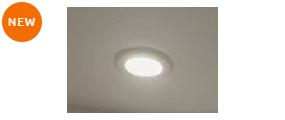 写真:ダウンライト(LED)3灯