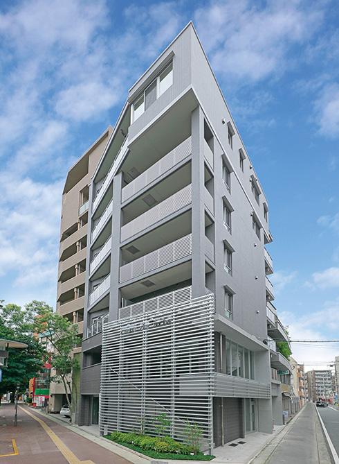 自社ビルをテナント付賃貸マンションに建て替え。こだわりを実現して、完成に大満足。(from第396号)