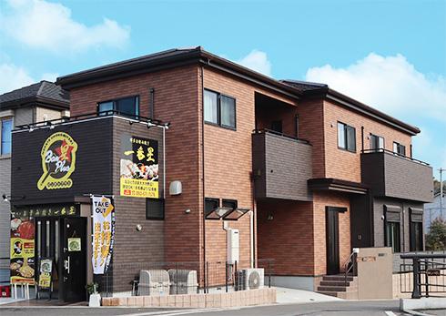 貸店舗併用で二世帯が快適に暮らす家を、独自のプランで実現。(from第399号)