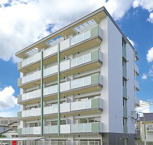3棟目は時代のニーズを捉え、単身者をターゲットとしたマンションに。(from第401号)
