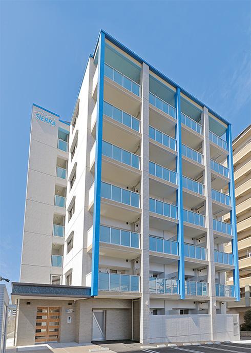 住む人の視点に立ち、きめ細やかに機能性を追求したマンションが完成(from第402号)