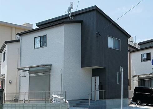 カラーコーディネートで8棟8様の個性がある分譲戸建て風の賃貸住宅に。(from第405号)